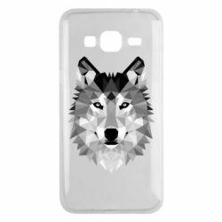 Чохол для Samsung J3 2016 Wolf Art
