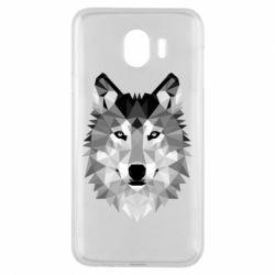 Чохол для Samsung J4 Wolf Art