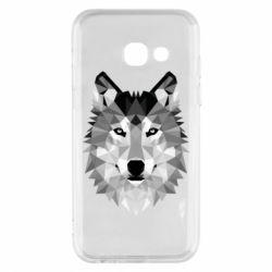 Чохол для Samsung A3 2017 Wolf Art