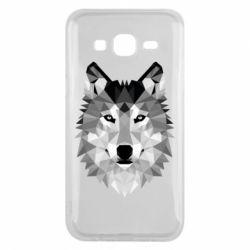 Чохол для Samsung J5 2015 Wolf Art