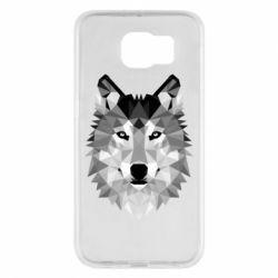 Чохол для Samsung S6 Wolf Art