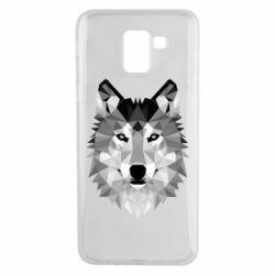 Чохол для Samsung J6 Wolf Art