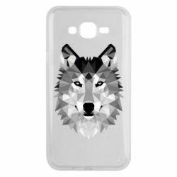 Чохол для Samsung J7 2015 Wolf Art
