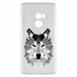 Чохол для Xiaomi Mi Mix 2 Wolf Art