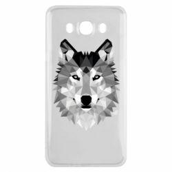 Чохол для Samsung J7 2016 Wolf Art