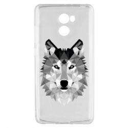 Чохол для Xiaomi Redmi 4 Wolf Art