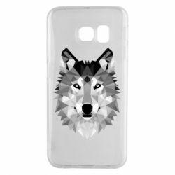 Чохол для Samsung S6 EDGE Wolf Art