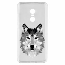 Чохол для Xiaomi Redmi Note 4 Wolf Art