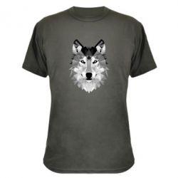 Камуфляжная футболка Wolf Art - FatLine
