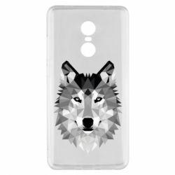 Чохол для Xiaomi Redmi Note 4x Wolf Art