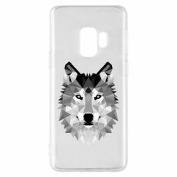 Чохол для Samsung S9 Wolf Art