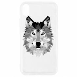 Чохол для iPhone XR Wolf Art