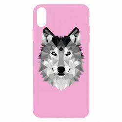 Чохол для iPhone Xs Max Wolf Art