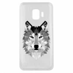 Чохол для Samsung J2 Core Wolf Art