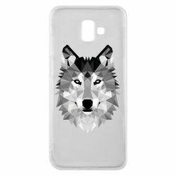Чохол для Samsung J6 Plus 2018 Wolf Art