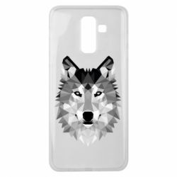Чохол для Samsung J8 2018 Wolf Art