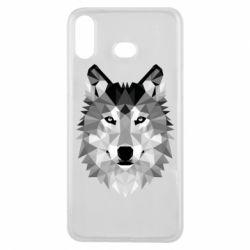 Чохол для Samsung A6s Wolf Art