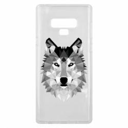 Чохол для Samsung Note 9 Wolf Art