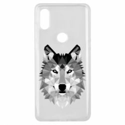 Чохол для Xiaomi Mi Mix 3 Wolf Art