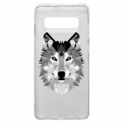 Чохол для Samsung S10+ Wolf Art
