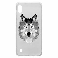 Чохол для Samsung A10 Wolf Art