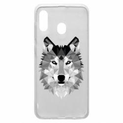 Чохол для Samsung A20 Wolf Art