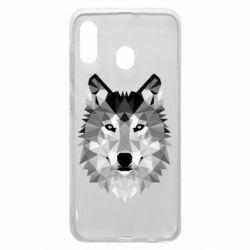 Чохол для Samsung A30 Wolf Art