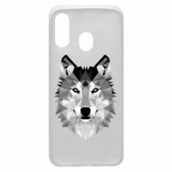 Чохол для Samsung A40 Wolf Art
