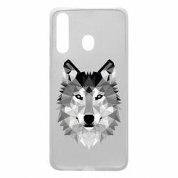 Чохол для Samsung A60 Wolf Art