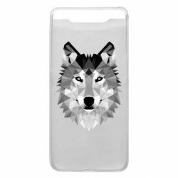 Чохол для Samsung A80 Wolf Art