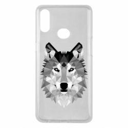Чохол для Samsung A10s Wolf Art
