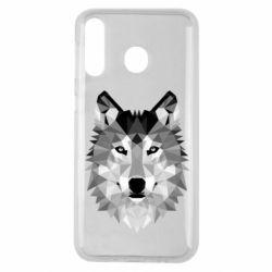 Чохол для Samsung M30 Wolf Art