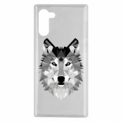 Чохол для Samsung Note 10 Wolf Art