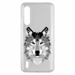 Чохол для Xiaomi Mi9 Lite Wolf Art