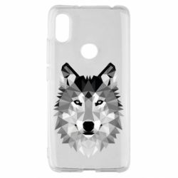 Чохол для Xiaomi Redmi S2 Wolf Art