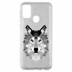 Чохол для Samsung M30s Wolf Art