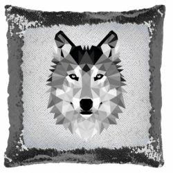 Подушка-хамелеон Wolf Art