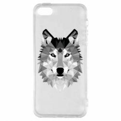 Чохол для iphone 5/5S/SE Wolf Art