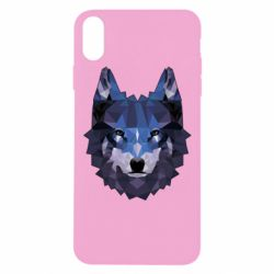 Чохол для iPhone Xs Max Wolf geometric
