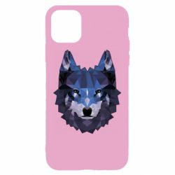 Чохол для iPhone 11 Wolf geometric