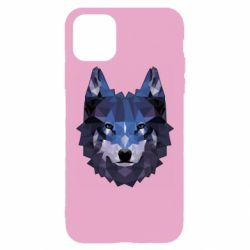 Чохол для iPhone 11 Pro Max Wolf geometric