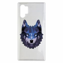Чохол для Samsung Note 10 Plus Wolf geometric