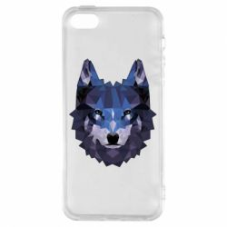 Чохол для iphone 5/5S/SE Wolf geometric
