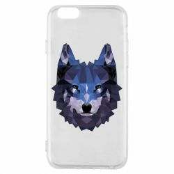 Чохол для iPhone 6/6S Wolf geometric