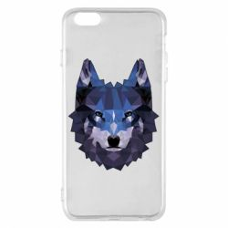 Чохол для iPhone 6 Plus/6S Plus Wolf geometric