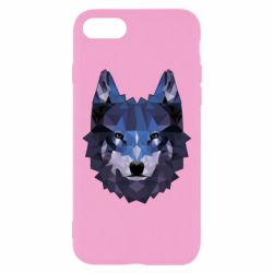 Чохол для iPhone 7 Wolf geometric
