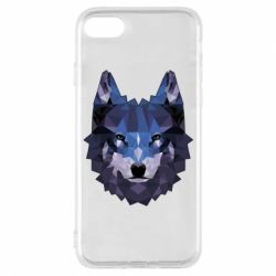 Чохол для iPhone 8 Wolf geometric