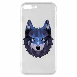 Чохол для iPhone 8 Plus Wolf geometric