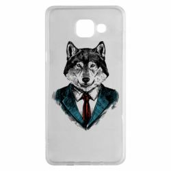 Чехол для Samsung A5 2016 Wolf in costume