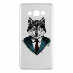 Чехол для Samsung A7 2015 Wolf in costume